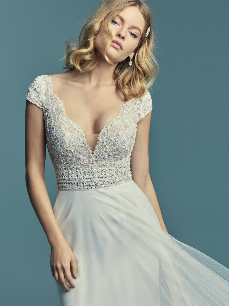 Maggie Sottero, Monarch, Ivory, Size 14, Was £1251, Now £1000