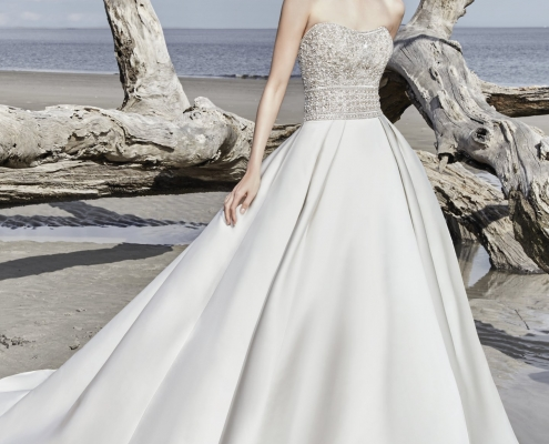 Sottero & Midgley, Phoenix, Diamond white, Size 12, Was £1599, Now £1095